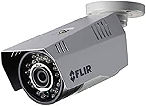 FLIR Digimerge C233BC Outdoor Security Bullet Camera, 4-in-1 CCTV Camera, 1.3MP HD MPX, White Metal, Fixed WDR, Works with AHD/CVI/TVI/960H CVBS DVR and Lorex and Flir MPX DVR