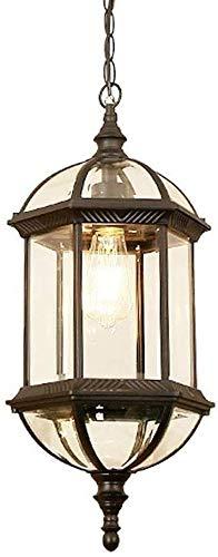 Bradoner Lámpara De Araña, Lámpara De Araña Exterior Y Interior, Adecuada para Terraza Al Aire Libre Y Terraza De Jardín De Flores