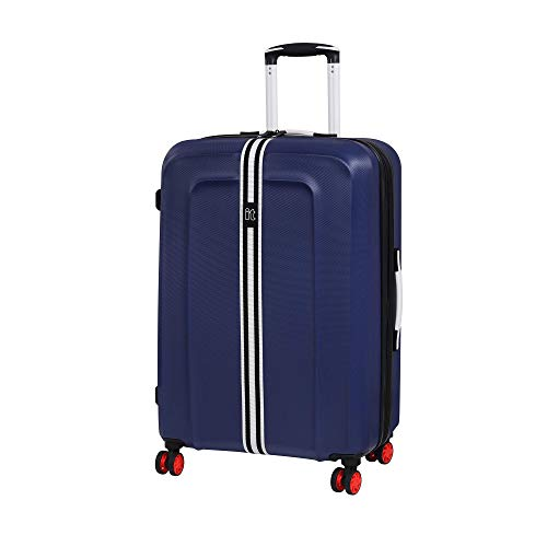 it luggage Jupiter 8 Wheel Medium Spinner Expandable Hard Suitcase, 69 cm, 106 L, Sodalite Blue