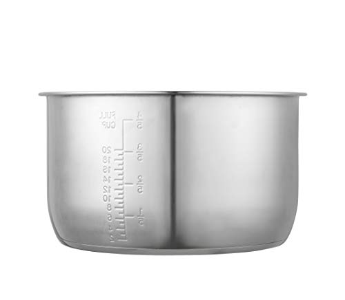 'GJS Gourmet Stainless Steel Inner Cooking Pot Compatible with 10 Quart Power Cooker XL, PPC790 (or #PPC790), PPC773 (or #PPC773), and WAL4'. This pot is not created or sold by Power Cooker.