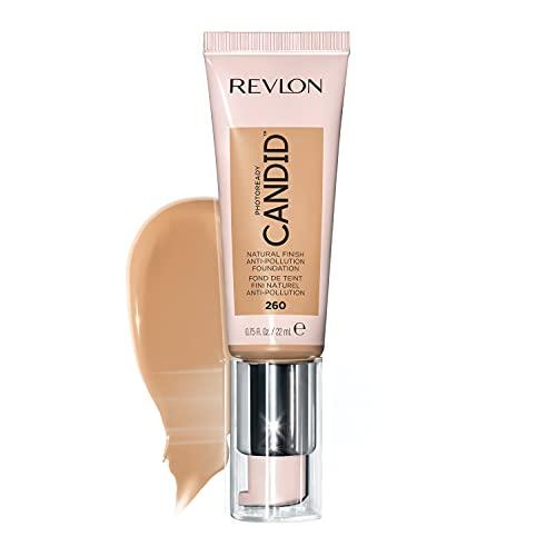 Revlon - Photoready Candid - Base de maquillaje líquida, efecto anticontaminación, con acabado natural