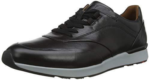 LLOYD Herren AJAS Sneaker, Schwarz (Schwarz 0), 43 EU