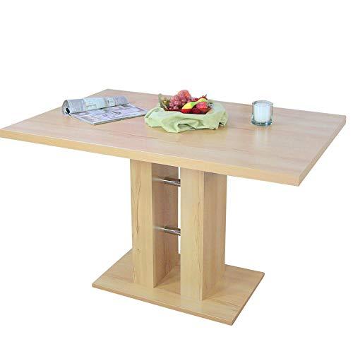 moebel direkt online Säulentisch, Breite 120 cm Alice Kernbuche-Nachbildung