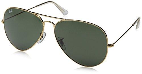 Gafas de sol Ray-Ban Aviator Fassung: Gold Gläser: Braun Verlauf 62 mm