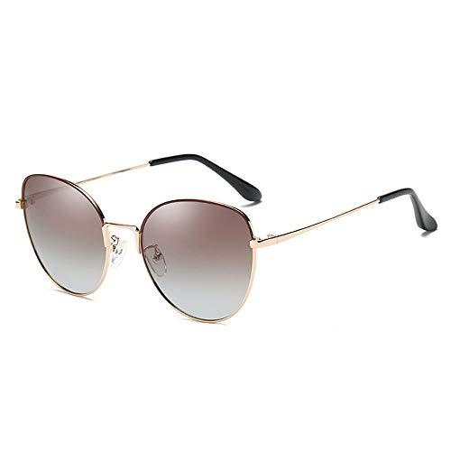 NgMik Gafas De Sol Polarizadas Señoras Gafas De Sol Polarizadas Gafas De Sol Polarizadas UV Comercial Protección De Las Gafas De Sol Clásico (Color : Black, Size : One Size)