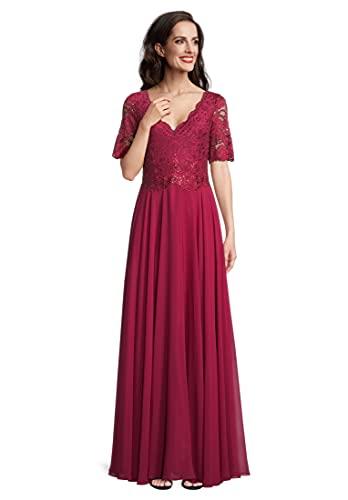 Vera Mont Abendkleid Ruby Red, 42 Damen