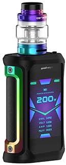 Kit Aegis X, GeekVape Aegis X 200W Kit con tanque Cerberus de 5.5ml y Power con caja doble 18650 Waterproof Limited Edition Mod: Amazon.es: Salud y cuidado personal