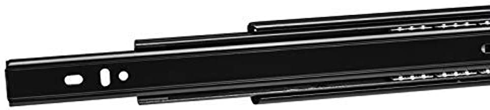 SOTECH 1 paar volledig uittrekbare ladegeleiders KV3-45-H45-L300-NF zwart lengte 300 mm (inbouwlengte) geleider max. draag...