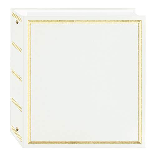 Pioneer Photo Albums TR-100W TR-100 Fotoalbum, magnetisch, 3 Ringe, 100 Seiten, Weiß