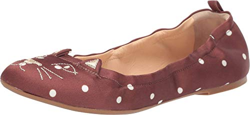 charlotte olympia Kitty Ballerina Brown 39.5 (US Women's 9.5) M