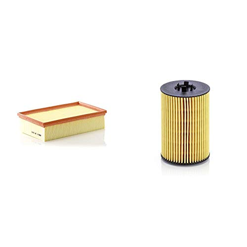 Original MANN-FILTER Luftffilter C 30 005 – Für PKW & Ölfilter HU 7020 z – Ölfilter Satz mit Dichtung/Dichtungssatz – Für PKW