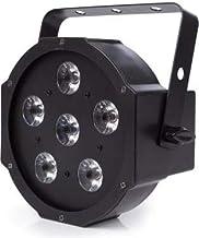 HQ POWER 6X 3W RGB LED Flat PAR, 2G7, 13W, Black, 25x 24x 15x cm