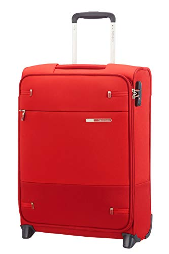 Samsonite Base Boost - Upright S (Länge 40 cm) Handgepäck, 55 cm, 41 L, Rot (Red)