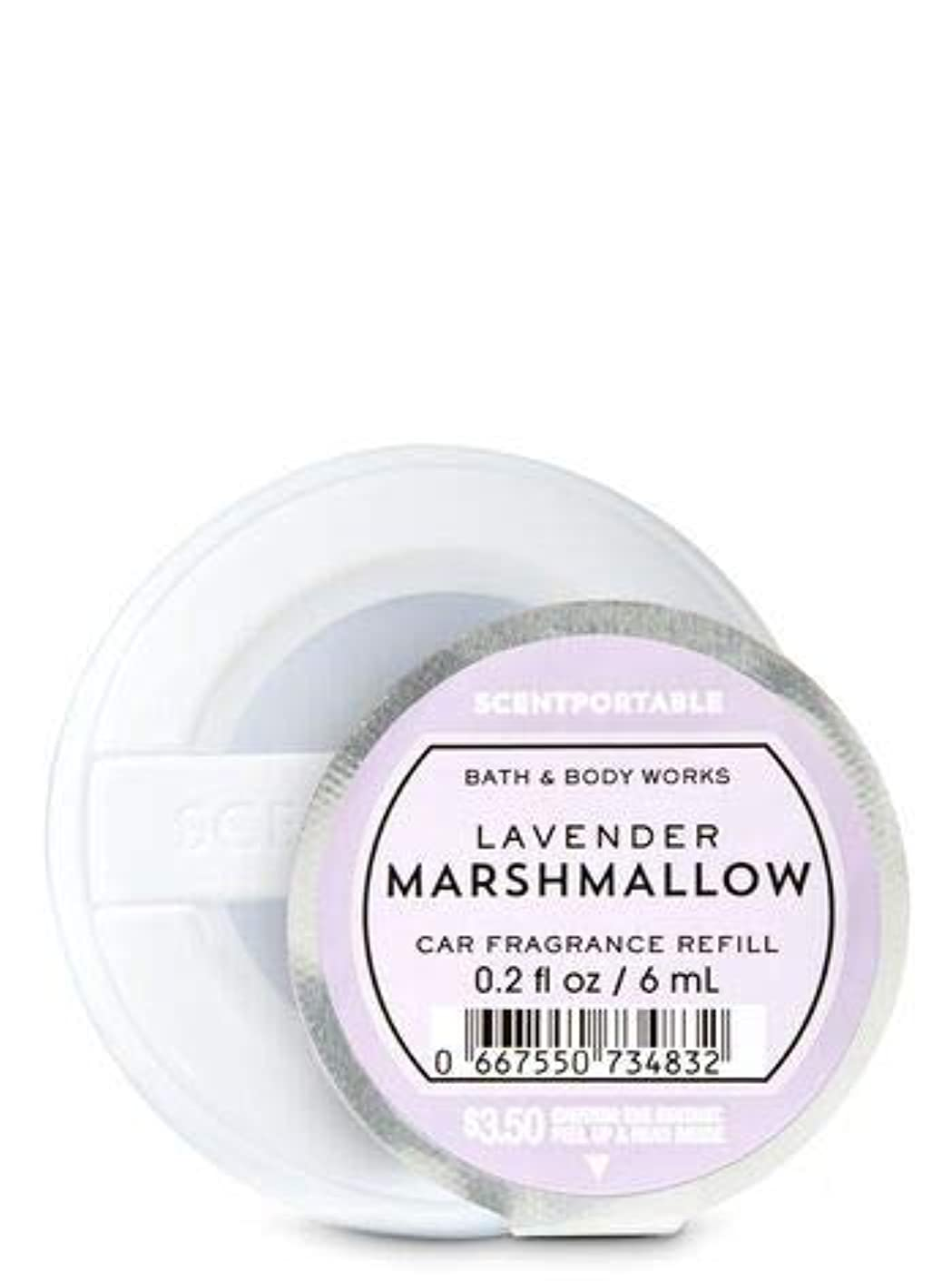 九月一晩空気【Bath&Body Works/バス&ボディワークス】 クリップ式芳香剤 セントポータブル詰替えリフィル ラベンダーマシュマロ Scentportable Fragrance Refill Lavender Marshmallow [並行輸入品]