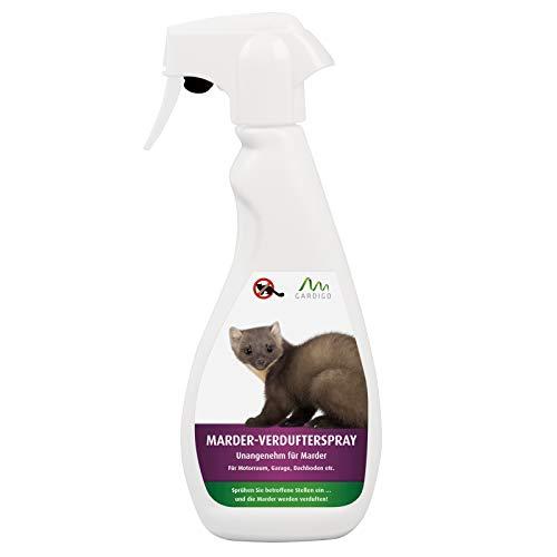 Gardigo Marderspray 500 ml | Marderschutz, Marderabwehr für KFZ, Dachboden und Garage