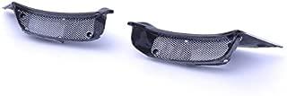 Bestem CBDU-DVL-RAC Carbon Fiber Air Ram Intake Inlet Fairing Covers W/Grilles for Ducati Diavel 2011-2017