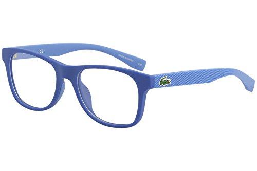 Lacoste Unisex-Erwachsene L3620 467 48 Brillengestelle, Türkis (Matte Azure)