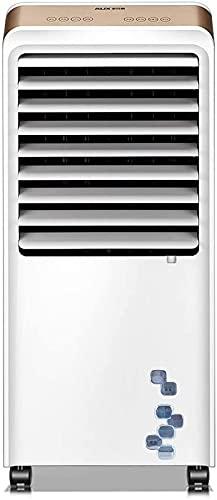 Torre Fans Hogar Ventiladores Verticales Enfriamiento y Calefacción Doble Propósito Finales Aire Acondicionado Fans Pequeños refrigeradores Fans de enfriamiento de Agua (Color: Blanco, Tamaño: 40.2 *