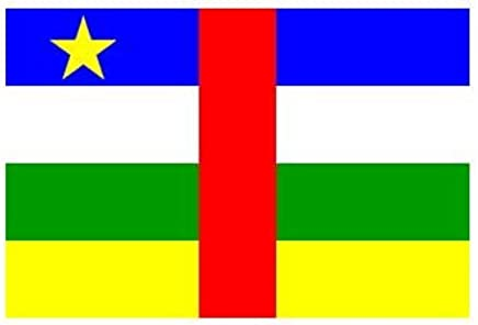 Central African Republic Flag 3ft x 5ft Polyester