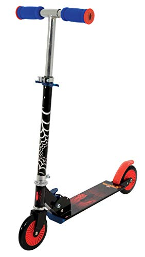 Spiderman M004009 Inline Scooter, Red