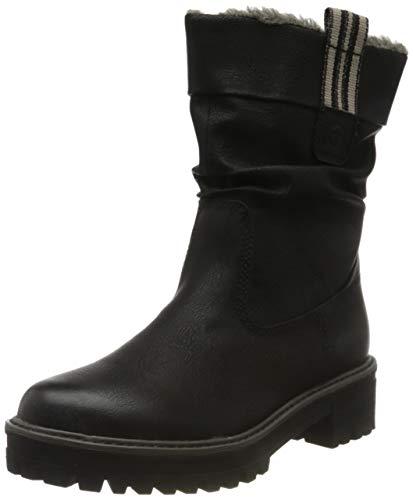 Tamaris Damen 1-1-26433-23 Hohe Stiefel, Schwarz (Black 1), 38 EU