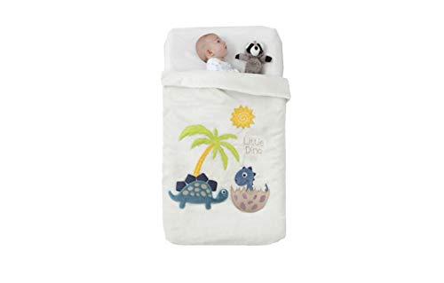 Manterol Babydecke mit hochwertigen Reliefapplikationen Art Baby Happy 717 C15 cm 110x140