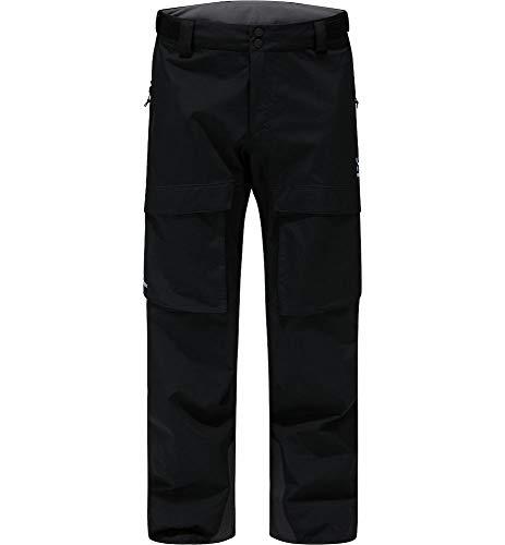 Haglöfs Elation GTX, Pantaloni Uomo, Nero (True Black Short), M