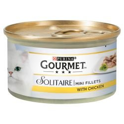 Gourmet Solitaire Mini Fillets met Kip in Saus 85g