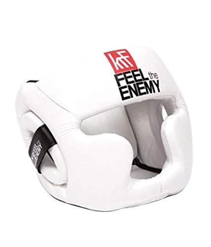KRF The New Urban Concept Box Krf DC Protec. SR Casque de Protection pour Le Corps Unisexe Adulte (Blanc) Taille Unique
