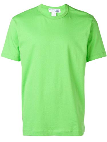Comme des Garçons Shirt heren S279083 groen katoenen T-shirt