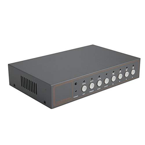 Función de memoria de apagado Video Quad Pantalla de información diversa con salida VGA NTSC/PAL con manual