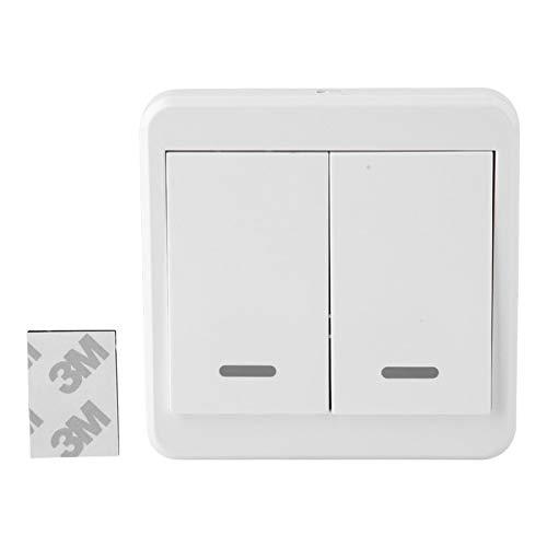 EFFACER Interruptor de relé, Receptor de Interruptor de relé de Control Remoto inalámbrico fácil de Instalar para prevenir Accidentes de Descarga eléctrica(2 Way, 12)