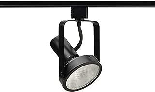 Juno Lighting R533-BL Light, Line Voltage 75W Max Open Back Track Fixture, 75 watt, Black
