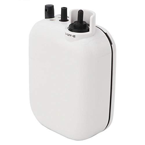 Tihebeyan Batteriebetriebene tragbare Sauerstoffpumpe für das Angeln im Freien, Luftpumpe zum Angeln, mit Zwei Geschwindigkeiten, für das Angeln im Aquarium