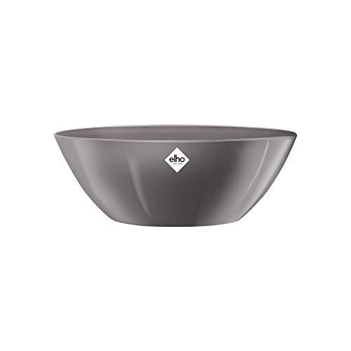 Elho Brussels Diamond Oval 36 - Blumentopf - Oyster Pearl - Drinnen  - Ø 35.7 x H 13 cm