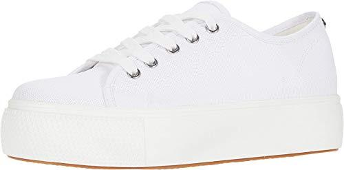 Steve Madden Women's Elore Sneaker, White , 8.5 M US