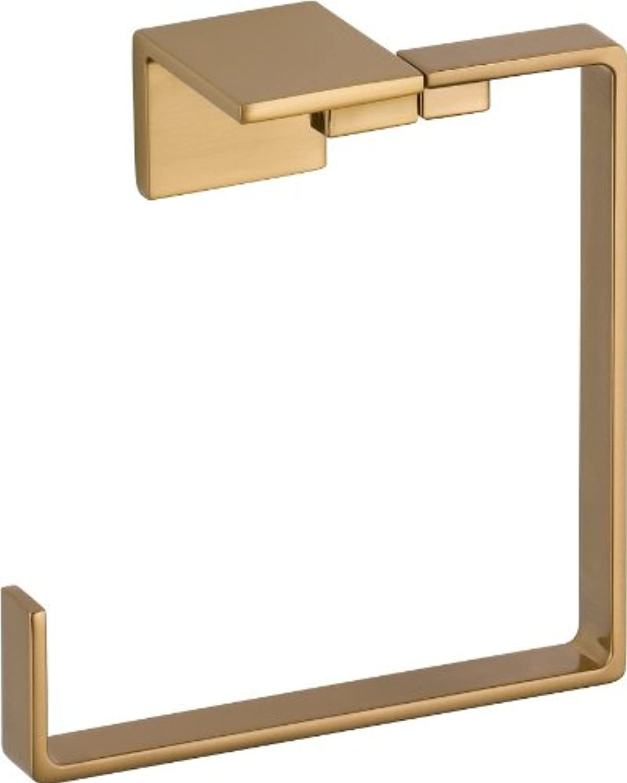 Delta Faucet 77746-CZ Vero Towel Ring, Champagne Bronze