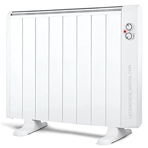 Suinga Emisor térmico 8 elementos sin aceite. 1500W. 2 niveles de potencia. Pies de apoyo incluidos.