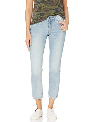 Daily Ritual Girlfriend Base B jeans, Bleach Wash, 30
