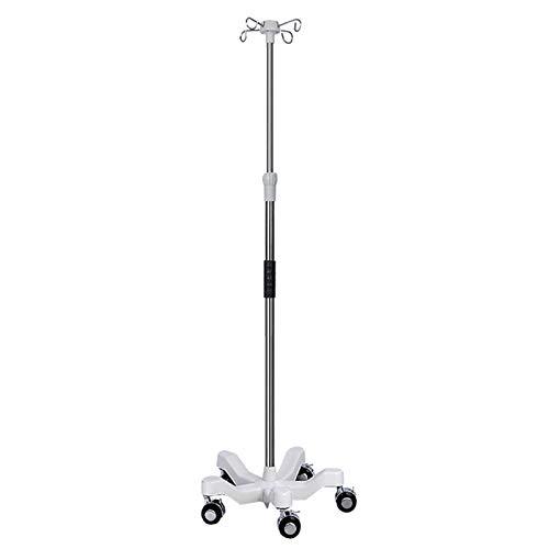 Soporte De Infusion Medica De Poste Portatil De Polo IV IV Pole IV Para Ancianos Home Care, Hospital Y Clinic IV Bolsa Soporte De Infusion,C