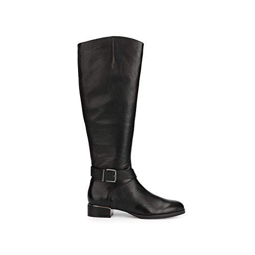 Kenneth Cole New York Women's Branden Buckle Fashion Boot, Black, 9 Medium US