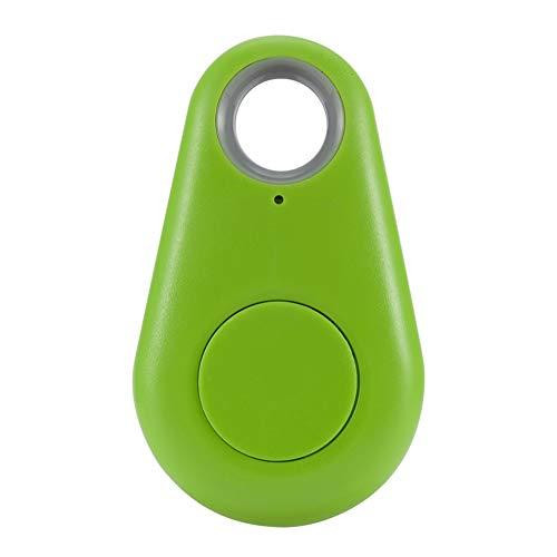 Buscador Inteligente Anti-pérdida Mini Bluetooth Tracker Bag Monedero Llave Pet Buscador Anti-perdida Localizador Alarma para niños Bolsa Cartera Llaves Smartphone(Verde)