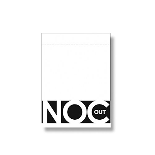 Mazzi di Carte da Gioco magia Mazzo di carte NOC OUT White Playing Cards