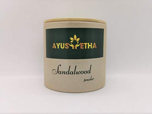 Ayusvetha Sandalwood Powder | 100% Natural | 45g