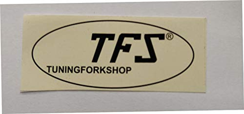 TFS Tuningforkshop Otto 32, 64 and 128 Hz Tuning Fork Set for Healing with Activator & Pouch