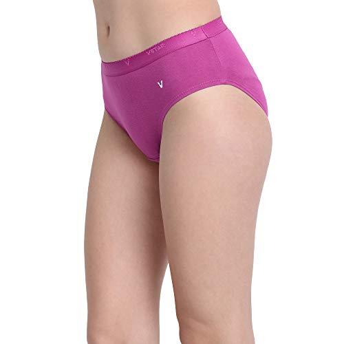 VSTAR Women's Panty Maple_100_Assorted Pack of 3