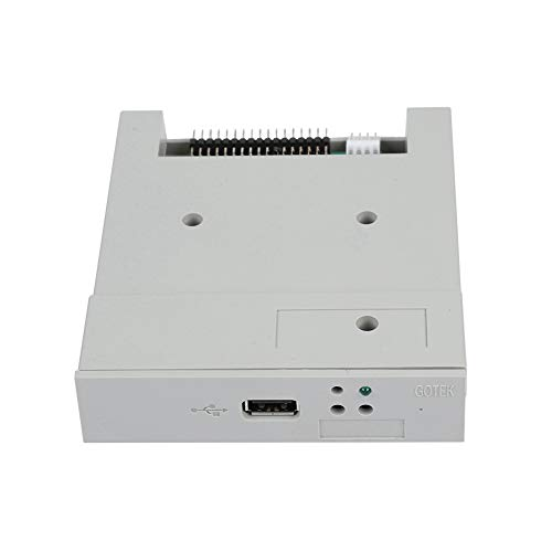 Tangxi USB-SSD-Diskettenlaufwerksemulator, SFR1M44-U 3,5 Zoll 1,44 MB 34-poliger Diskettenlaufwerksschnittstellenemulator FAT32 U-Diskette Eingebauter Speicher für industrielle Steuergeräte