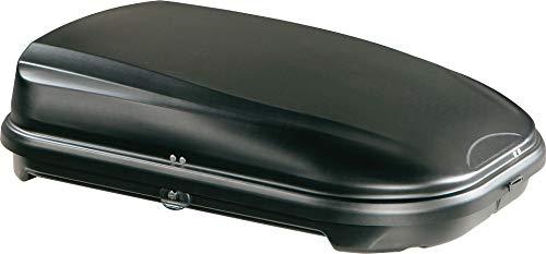 Junior Econbox Coffre de Toit pour Voiture Noir Carbone 320 125 x 90 x 34 cm 100% fabriqu en Italie 320 litres