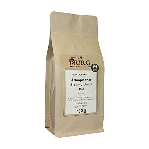 BURG Äthiopischer Sidamo Kaffee Gewicht 250 g, Mahlgrad ungemahlen