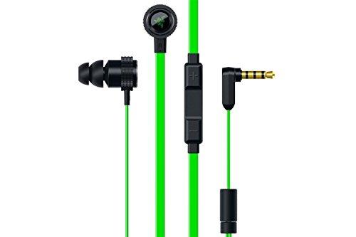 Razer Hammerhead Pro V2 Stereo Kopfhörer (mit 3,5-mm Audio- und Mikrofon- Anschluss für iPhone und Android Mobilgeräte)